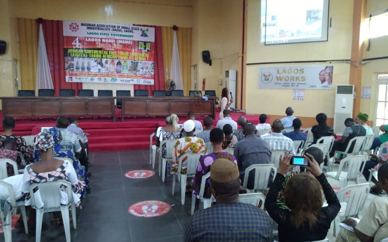 Entrepreneurs Showcase at the 4th Lagos NASSI (MSME) Trade Fair