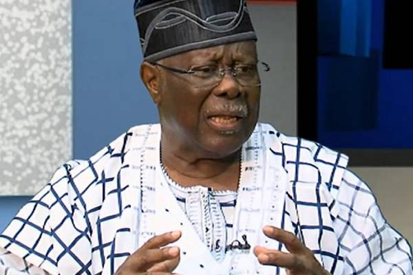 Chief Olabode George speaks on the jamboree visit to Aso Villa
