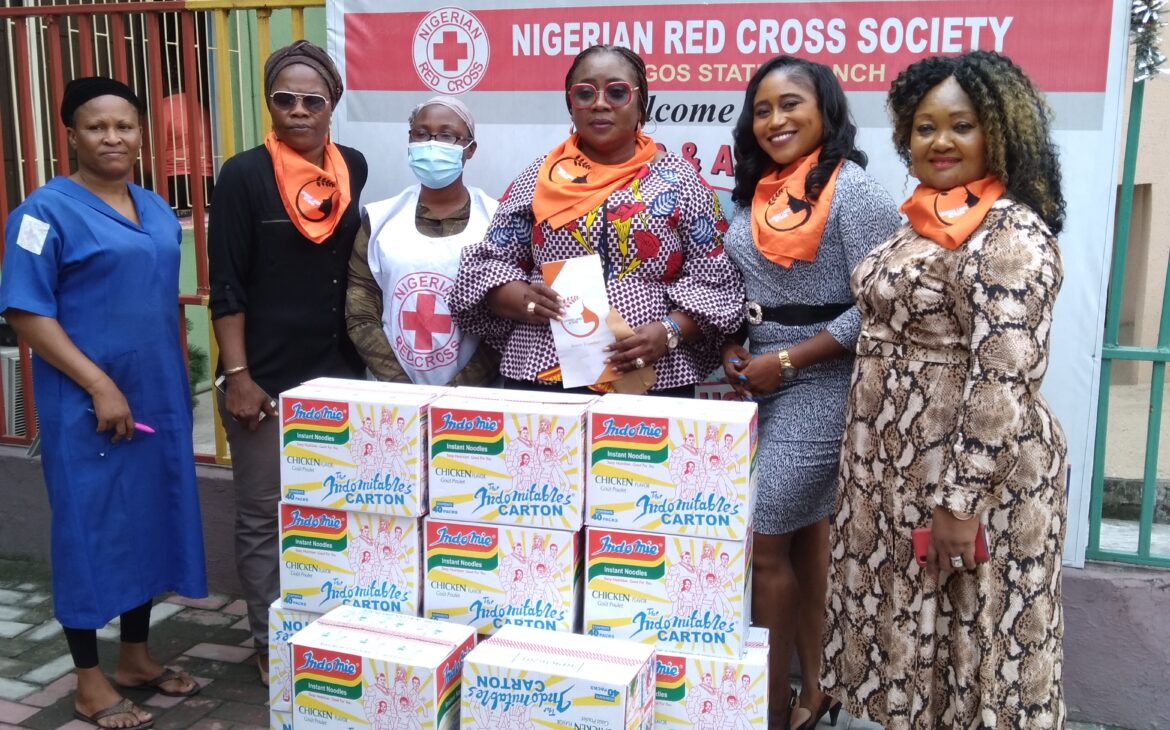 Likeminds Ladies Donates Food and Cash to Nigerian Red Cross Society Motherless and Abandoned Babies Home