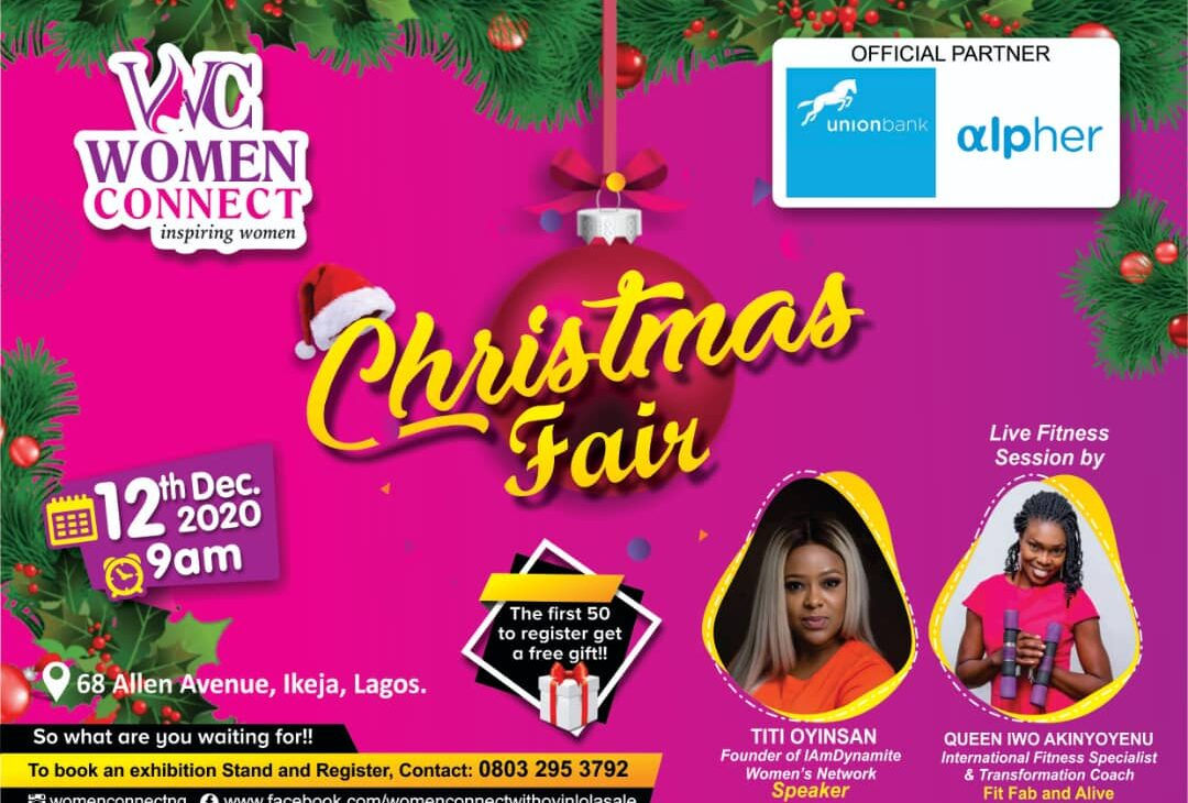 Women Connect Xmas Fair Partners with Alpher Woman by Union Bank