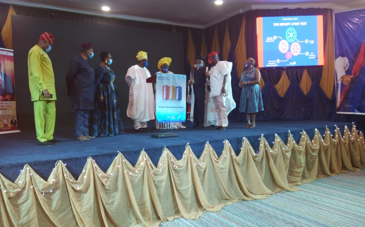 Rotary Club of VGC Celebrates the Installation of Rotarian Adeyemi Fakayejo as the 24th President