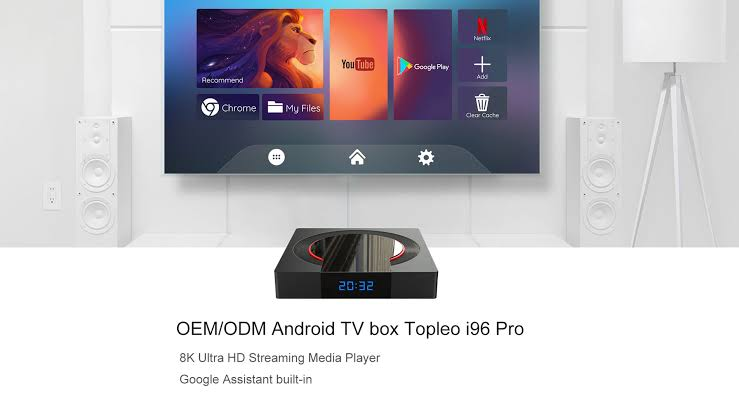 Get the latest i96 Pro Android 10 Box today